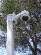 Mâts dédiés à la vidéo-surveillance