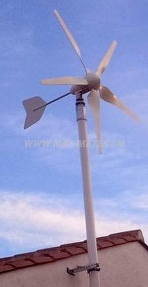 éolienne individuelle - Mât pignon pour éolienne